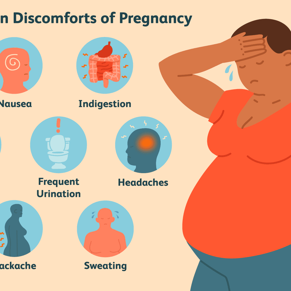 The Common Discomforts of Pregnancy