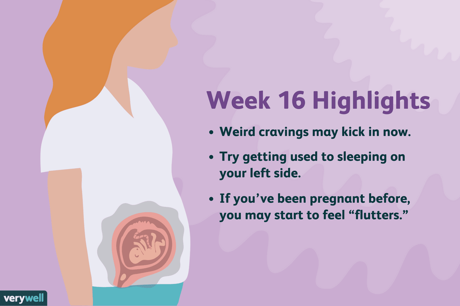 16 Weeks Pregnant: Symptoms, Baby Development, and More