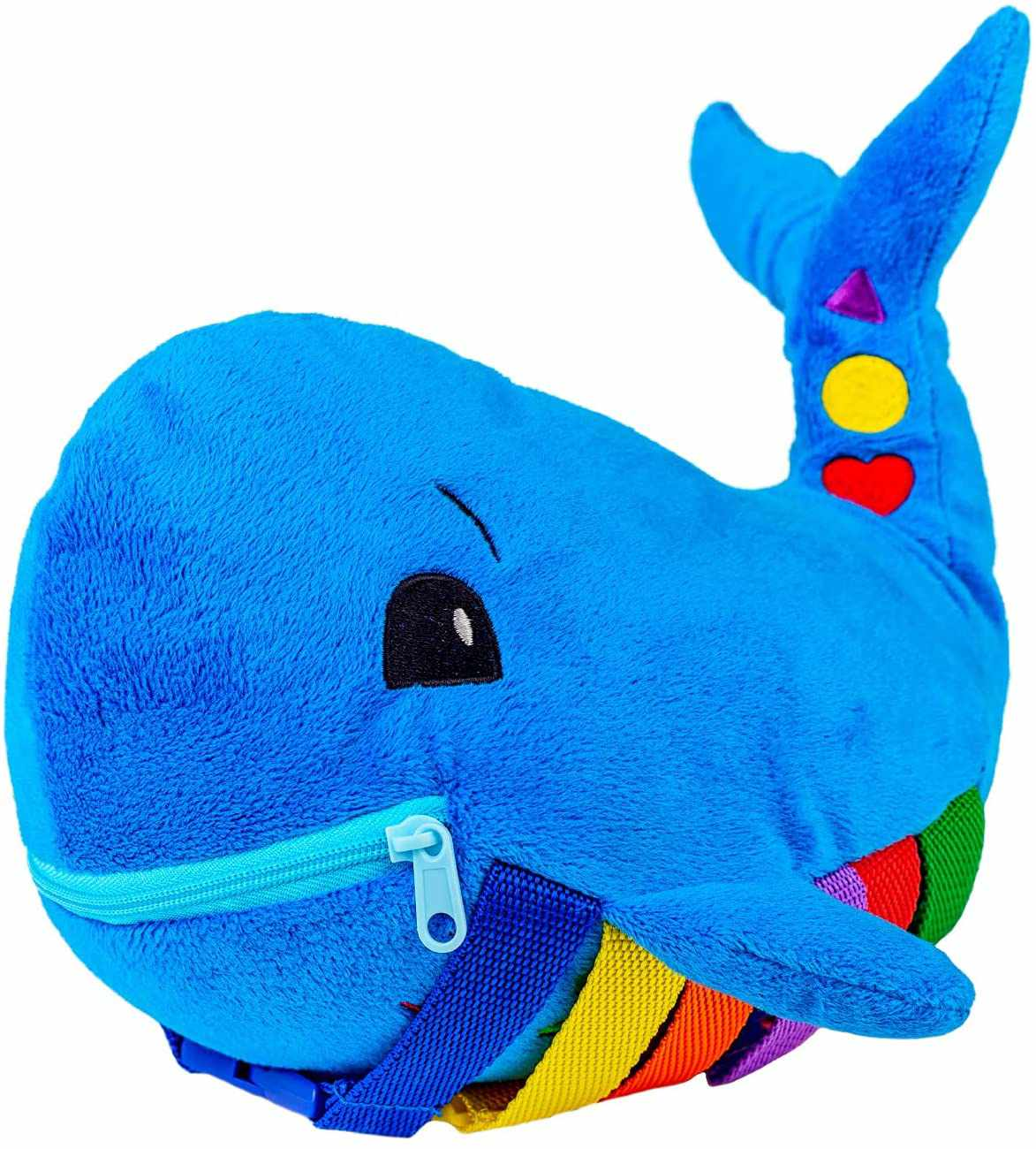 Buckle Toy Blu Whale Learning Activity Toy