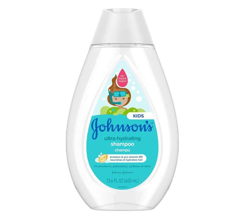 Johnson's Ultra-hydrating shampoo