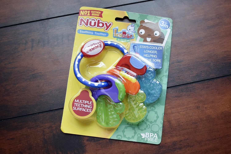Nuby IcyBite Keys Teether