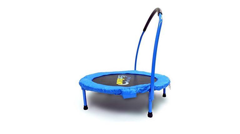 indoor toys - mini trampoline