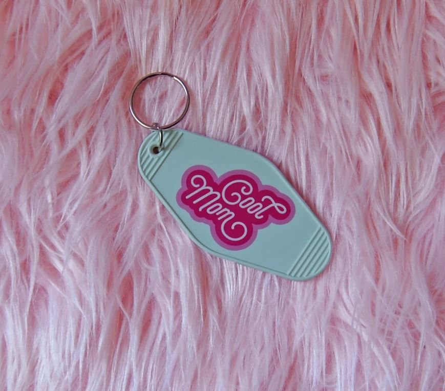 A Shop of Little Things Cool Mom Keychain