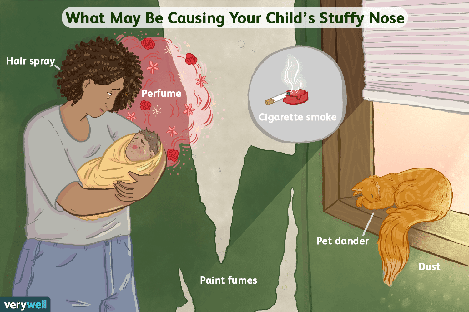 Simple Solutions for Clearing a Newborn's Stuffy Nose