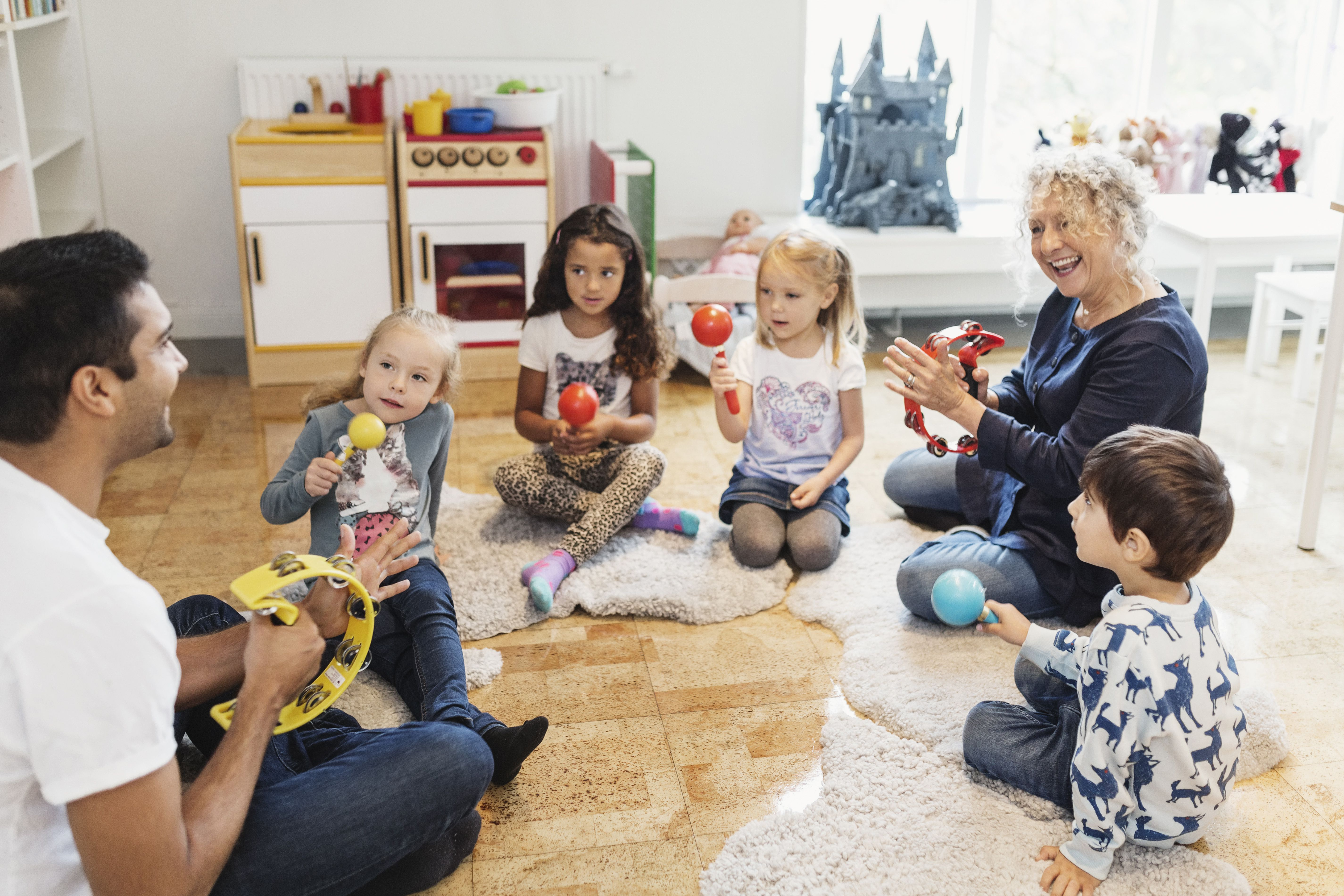 Young Kids Are Being Shuffled From One Activity To Another In >> 5 Musical Activities For Kids Of All Ages