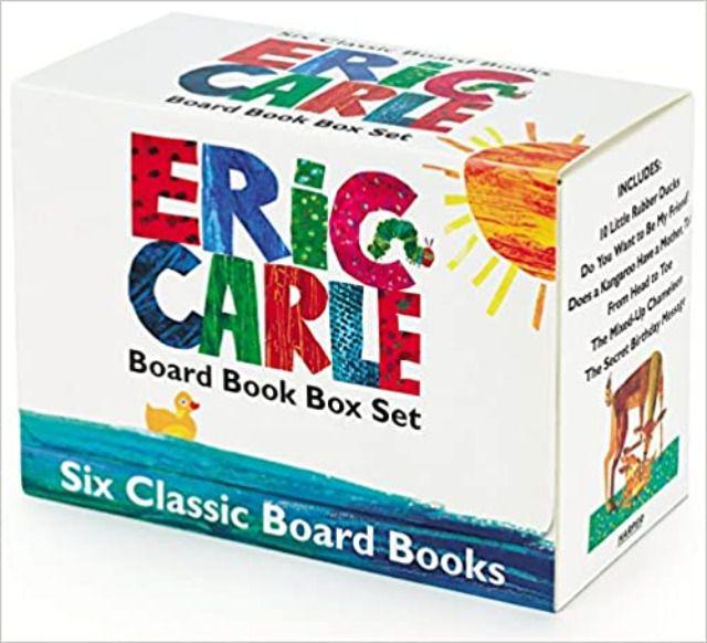 Eric Carle Board Book Box Set
