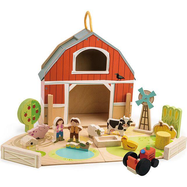 Tender Leaf Toys Baby Barn Set