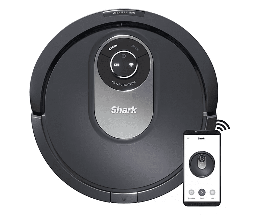Shark AI RV2001 Wi-Fi Connected Robot Vacuum with Advanced Navigation
