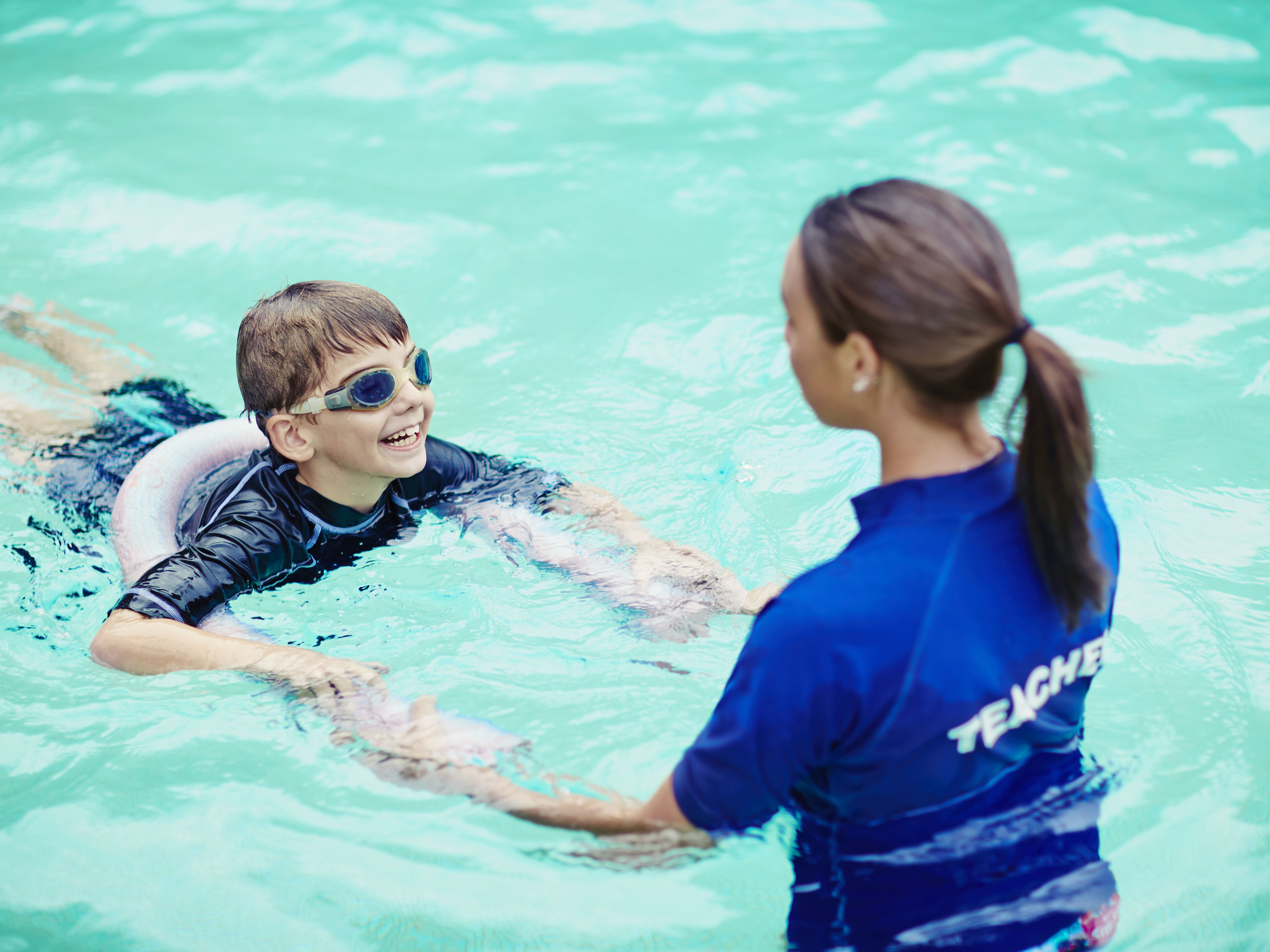 Swimming Lessons For Kids When To Start What To Look For