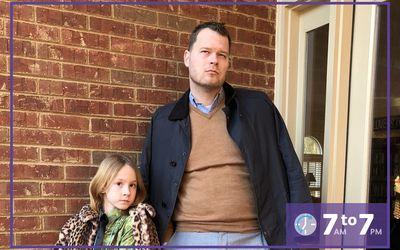 John Petersen and his daughter Riley Kinnane-Petersen