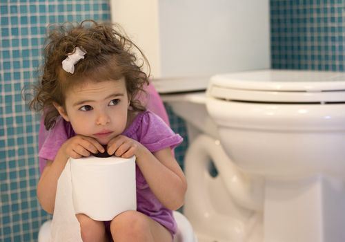 potty training concept