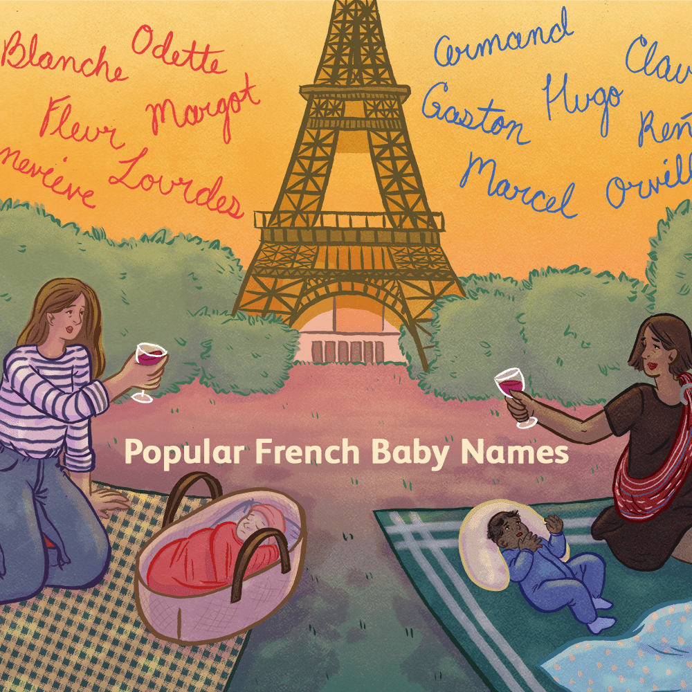 Top 100 French Names For Babies