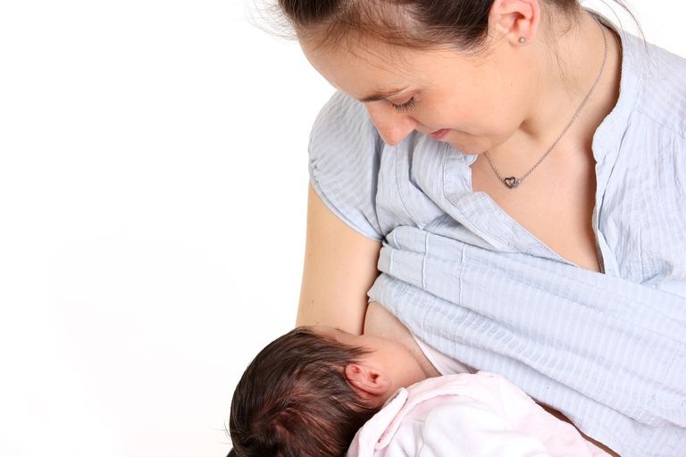Mom Breastfeeding Baby