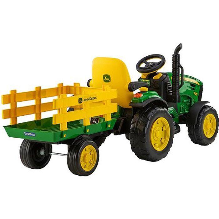 Peg Perego John Deere Ground Force 12-volt Tractor Ride-On