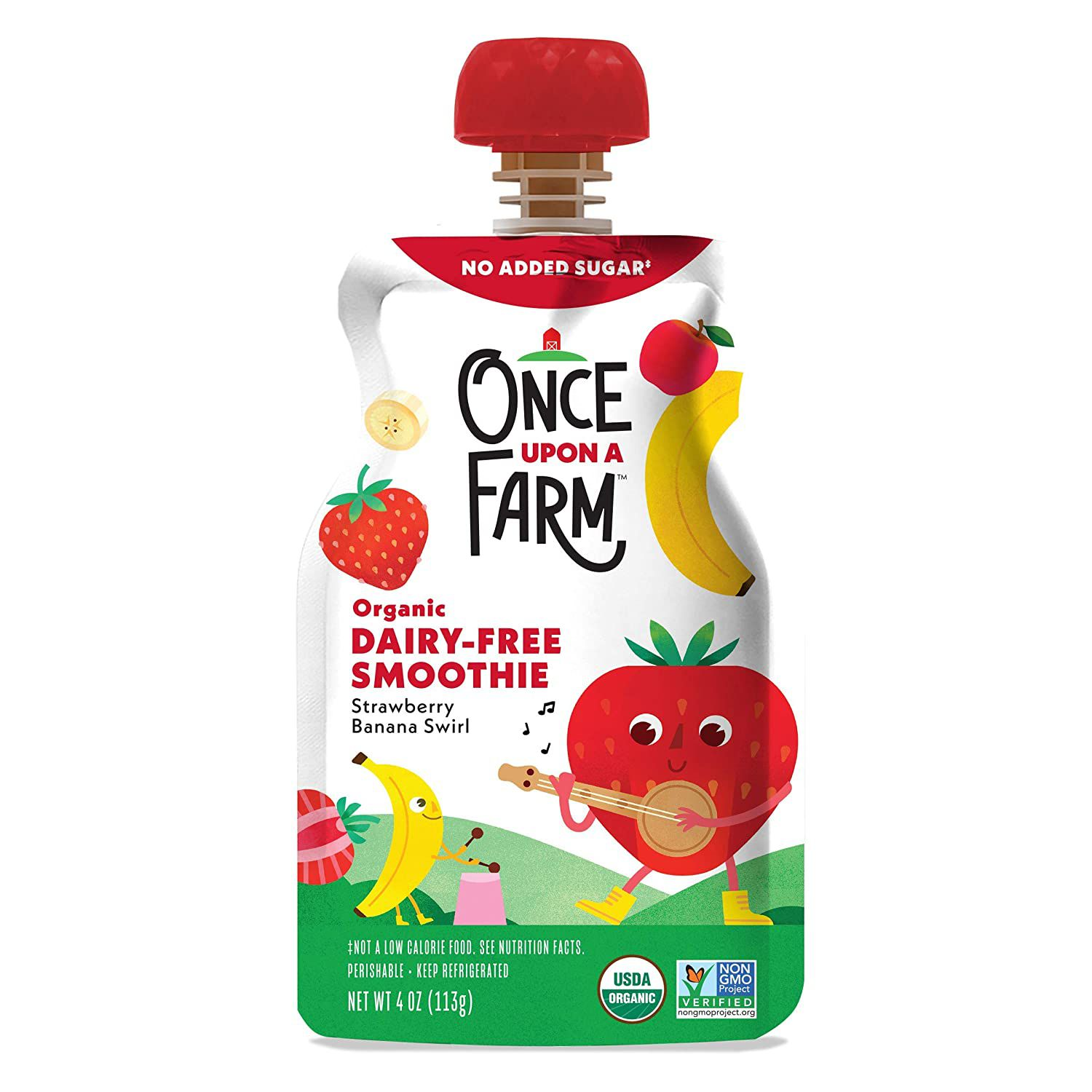 Once upon a farm smoothie