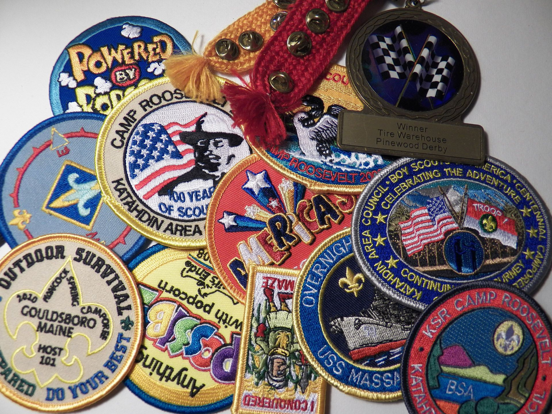Of badge scout meaning the The History