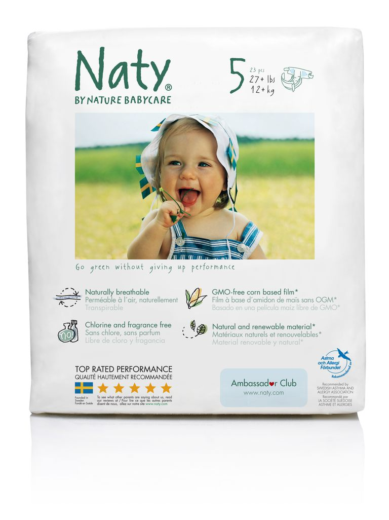 Naty diapers