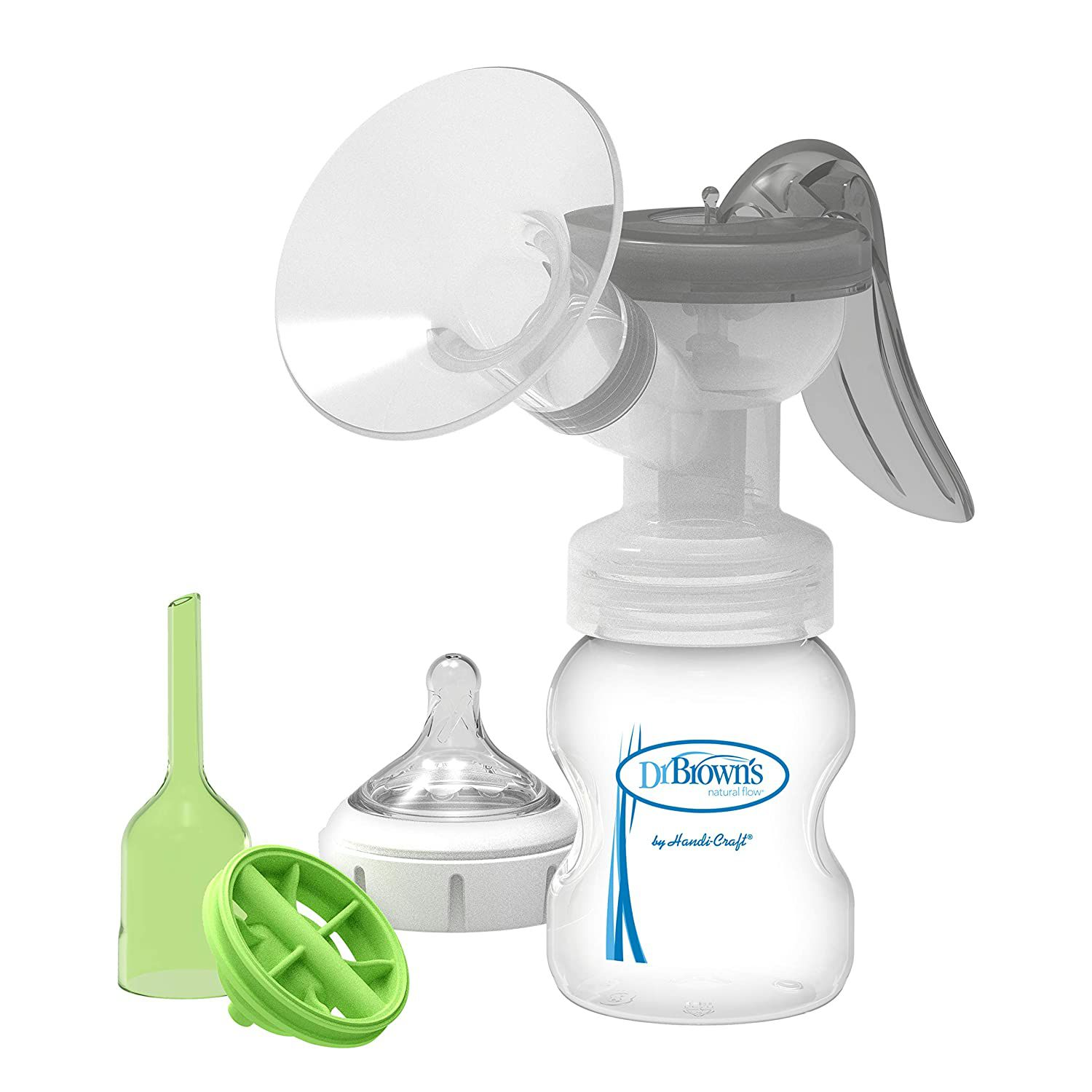Dr. Brown's Manual Breast Pump with Softshape Silicone Shield