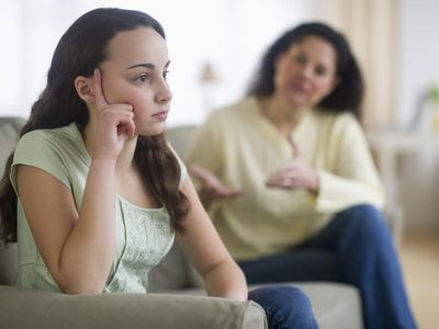 Teach your teen healthy ways to deal with frustration and anger.