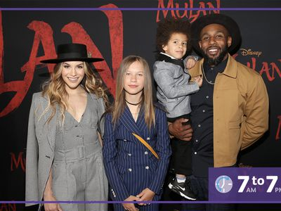 Allison Holker Boss and Twitch Boss with their kids
