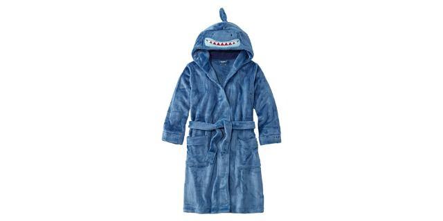 L.L. Bean Kids' Cozy Animal Robe