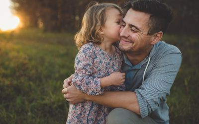 Image result for free image of little girl asking father