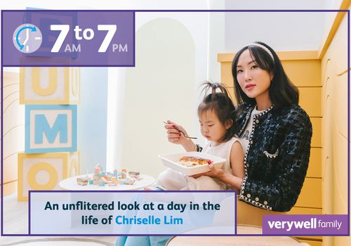 Chriselle Lim and daughter
