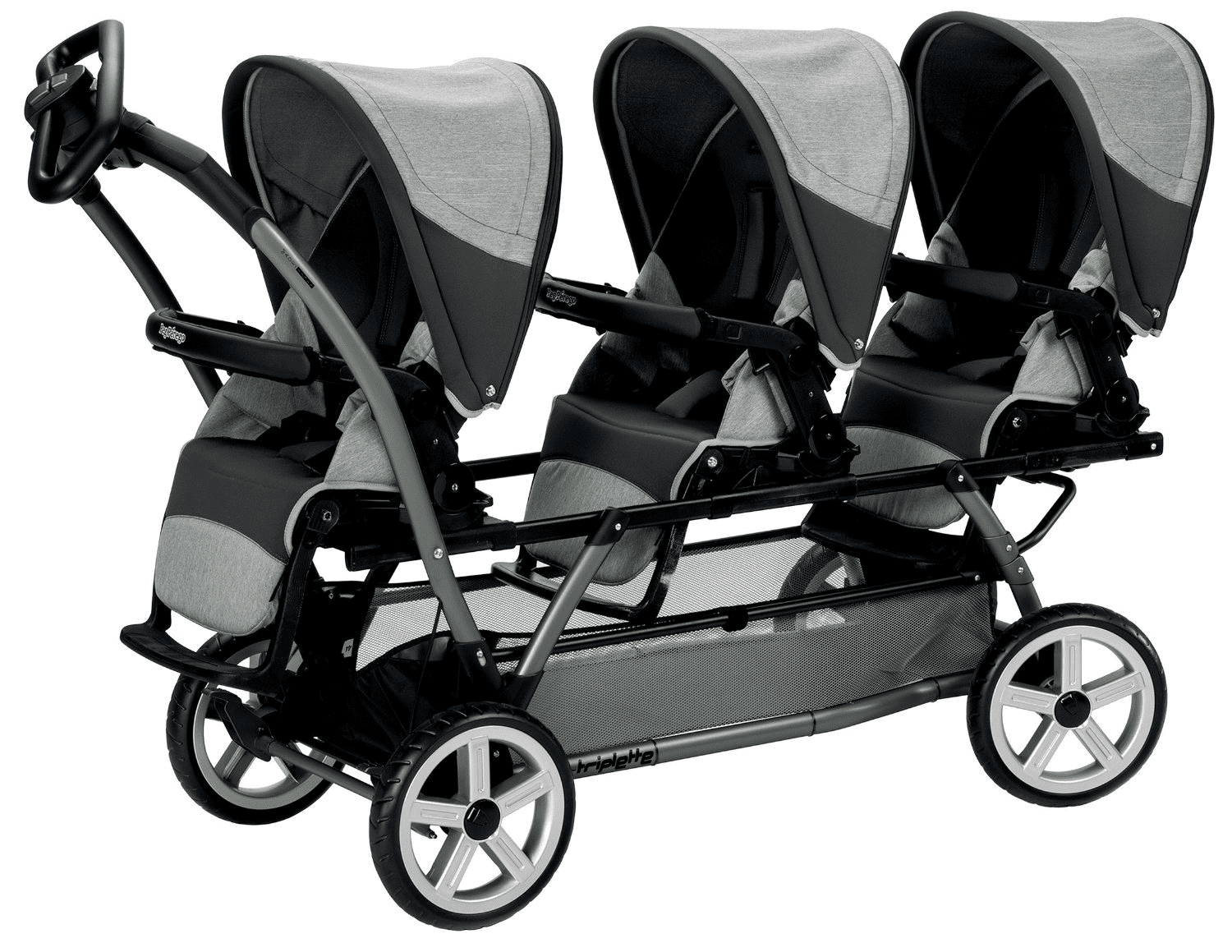 Triple Strollers For Triplets
