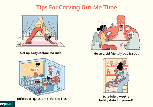 Tips for carving out me time