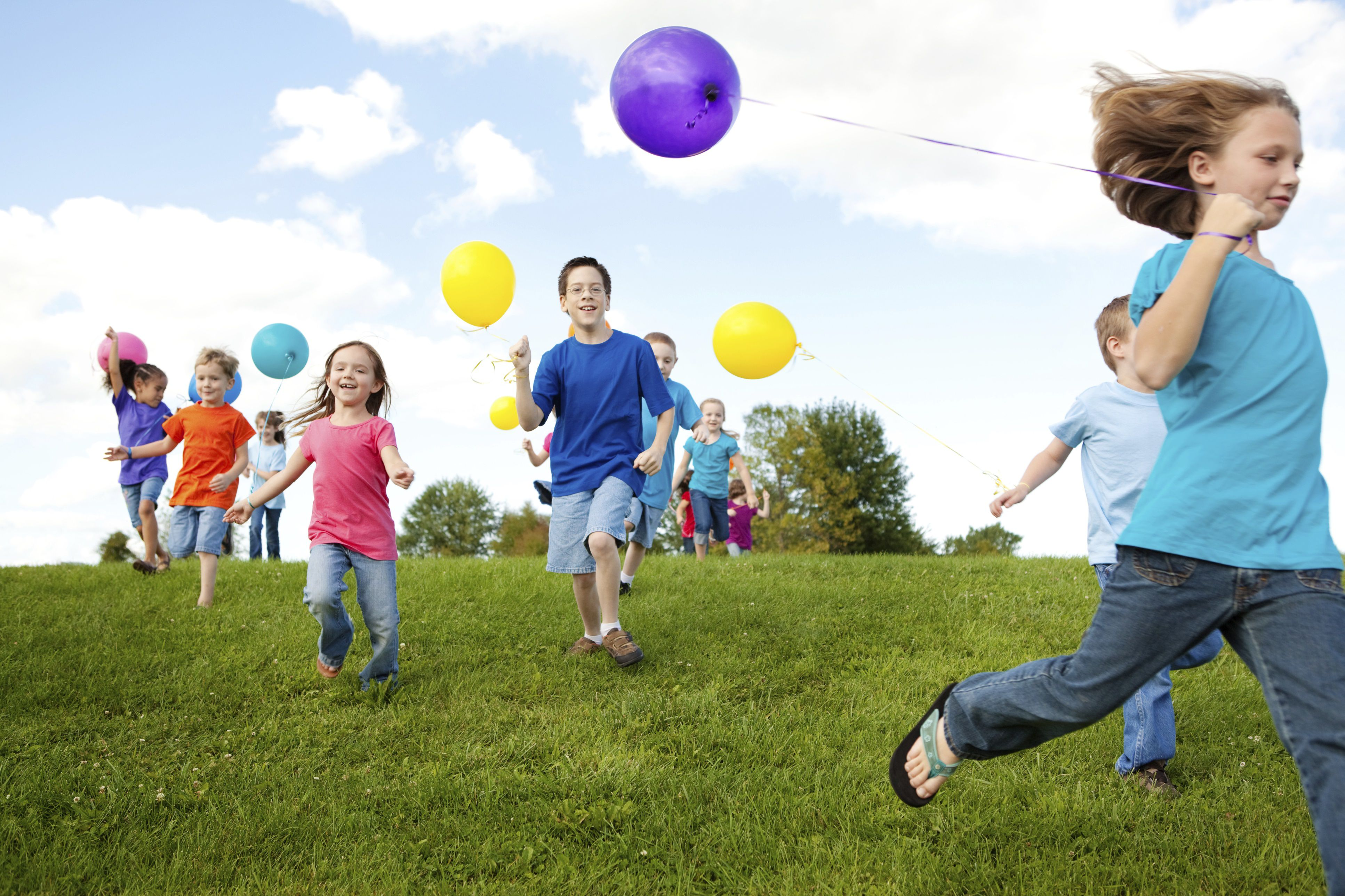 7 outdoor party games for kids