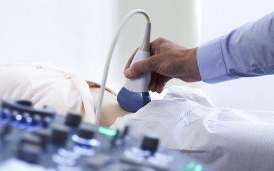 Pregnancy ultrasound scan