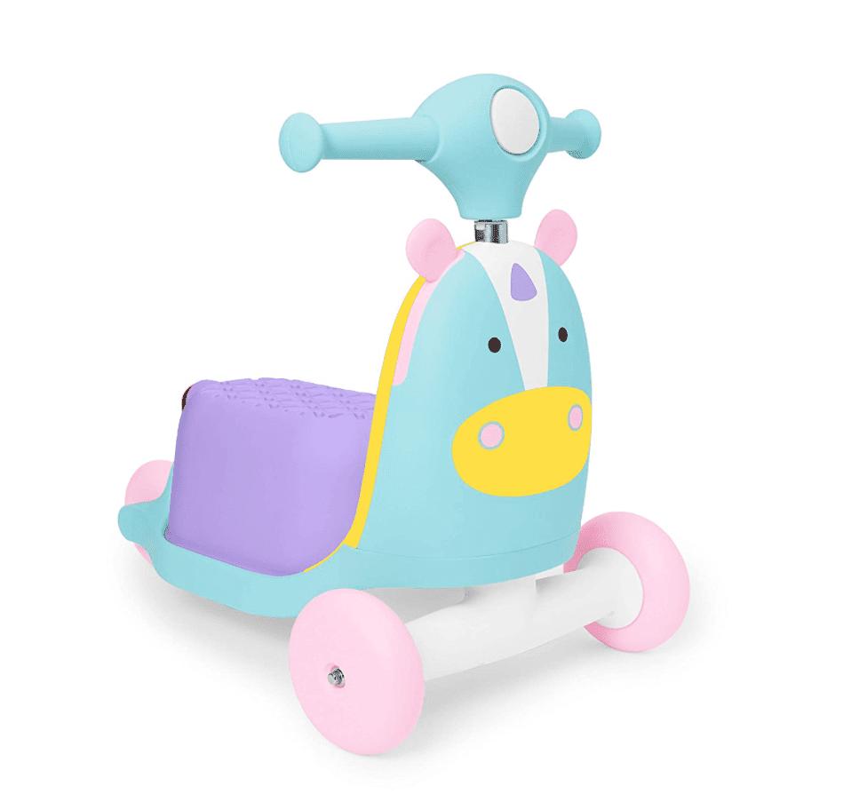Skip Hop 3-in-1 Ride-On Unicorn