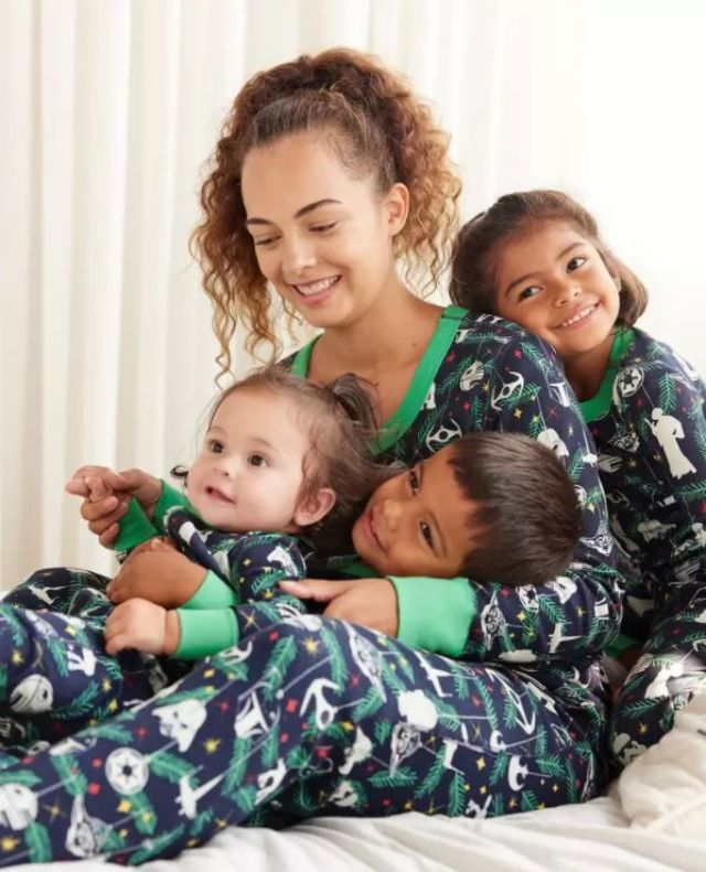 Hanna Andersson Star Wars Holiday Matching Family Pajamas