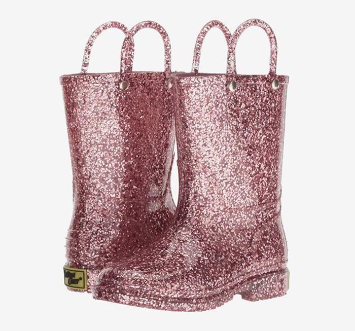 Western Chief Kids Glitter Rain Boots