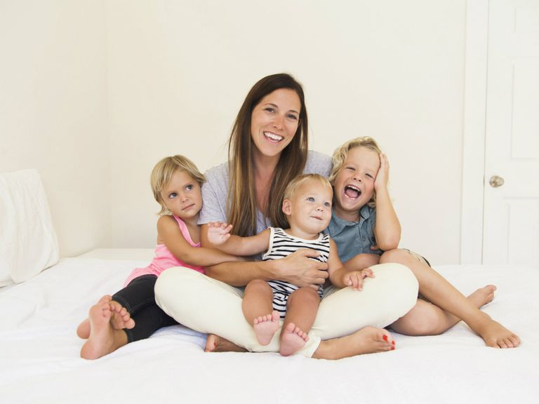 Make it work when you're a working mom of three with these tips!