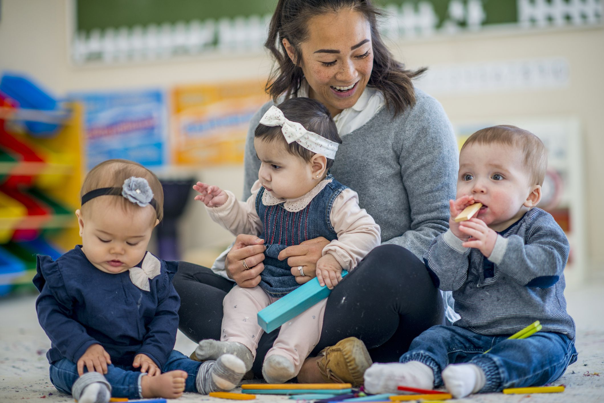 At What Age Can A Baby Start Daycare