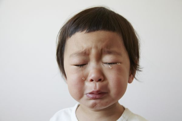 There are many reasons kids cry.