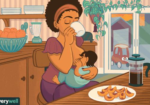 breastfeeding 8-12 month old
