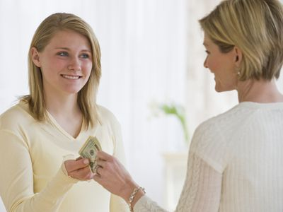 Collecting rent from a teen may be a kind thing to do.