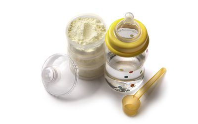 Baby Goods: Bottle with Formula