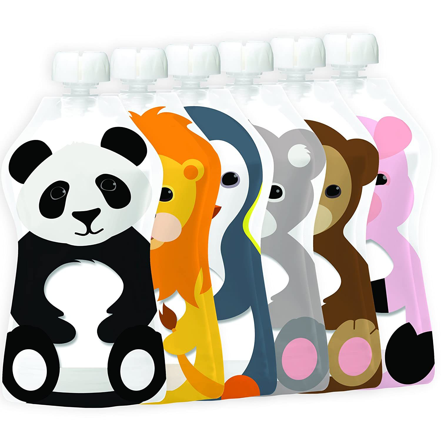 Squooshi Reusable Baby Food Pouches