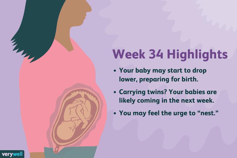 week 34 pregnancy highlights