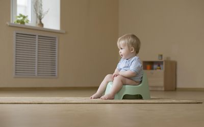 When Your Toddler Isn't Pooping When Potty Training
