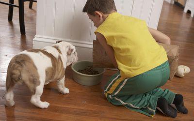 Kids doing chores helps build self esteem