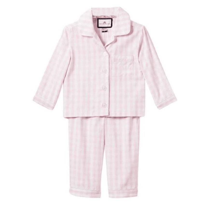 Maisonette Petite Plume Gingham Pajamas