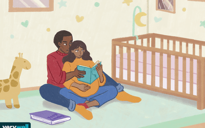 Partners supporting each other during pregnancy