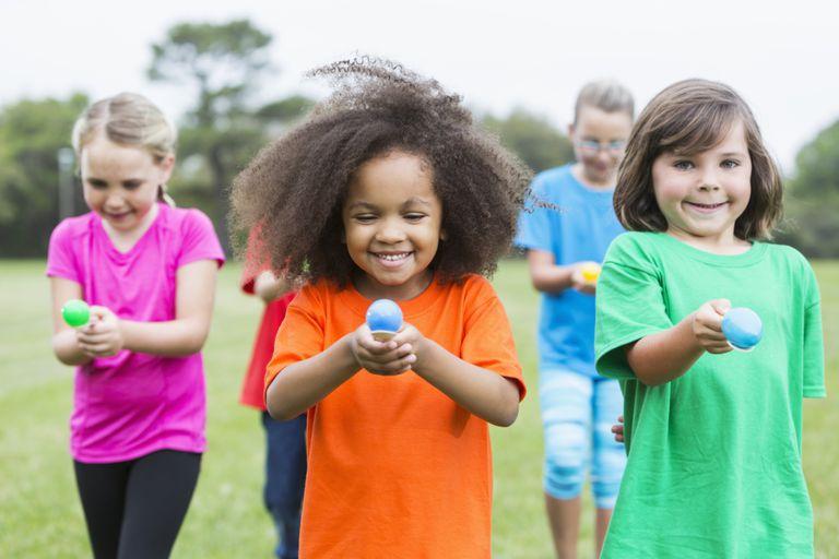 fun indoor and outdoor relay races for kids