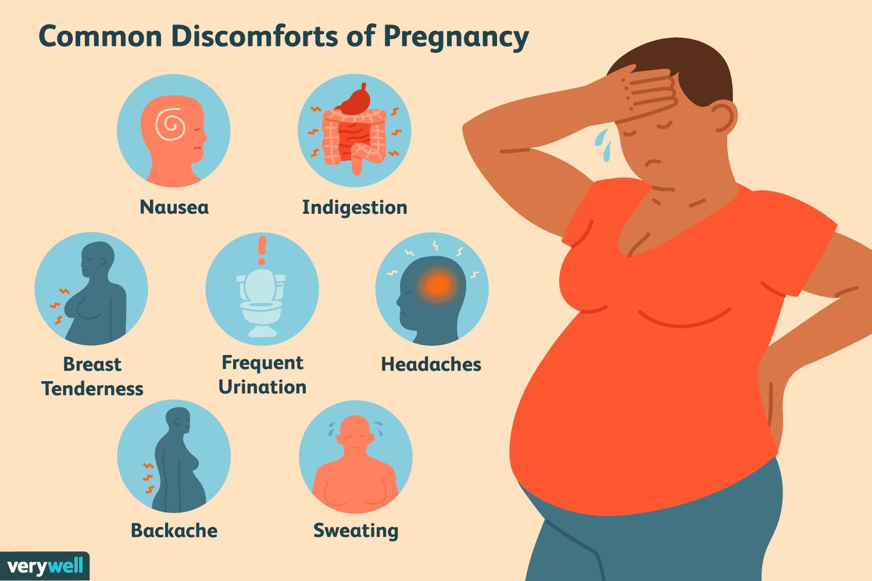 Common discomforts of pregnancy
