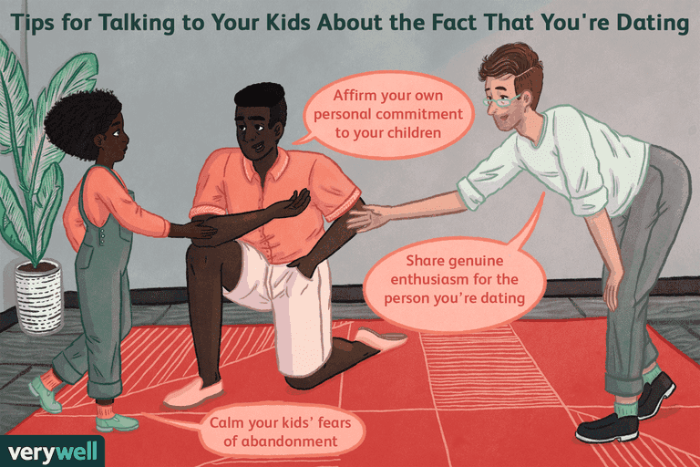 Tips for talking to your kids about the fact you're dating