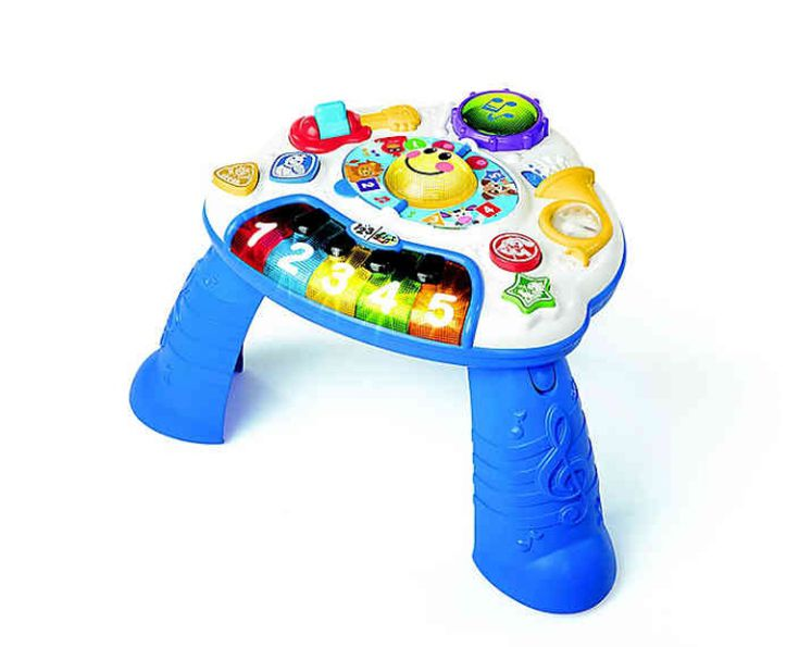 Baby Toys Musical Learning Table Learn Music Activity Center Game Toddler Toy